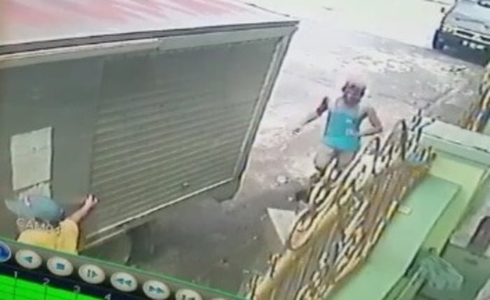 Aksi Pencurian di Jalan Patuan Anggi