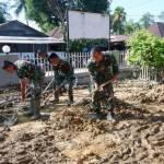 TNI Kirim Pasukan Reaksi Cepat Penanggulangan Bencana Alam ke Tapteng