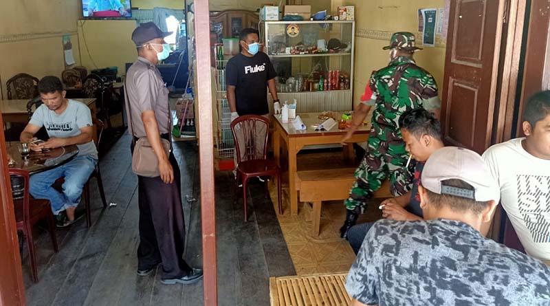 TNI dan Polri Sosialisasi di Desa Binaan