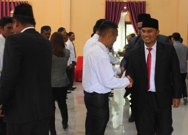 Panwaslu Lantik PKD se-Kecamatan Lintong Nihuta Jelang Pilkada 2020