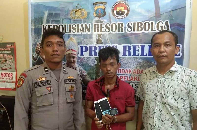 Polisi Ringkus Maling HP di Sibolga