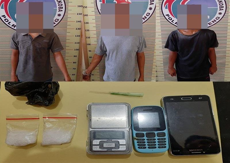 Polisi Tangkap Tiga Pria di Kebun Sawit Sibabangun