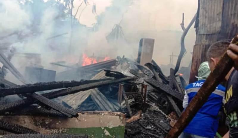 Kebakaran Rumah di Sibolga