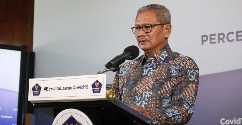 Update Corona di Indonesia