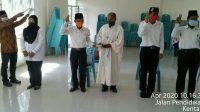 Babinsa Hadiri Pelantikan BPD Sempung Polling