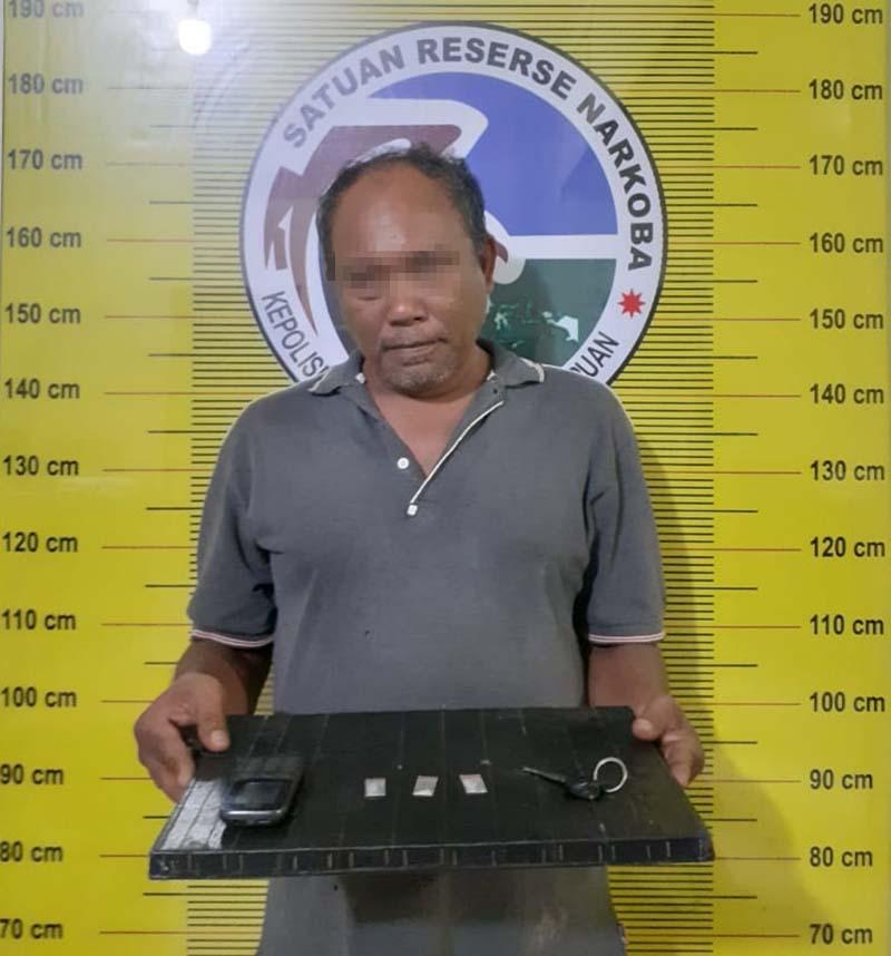 Polisi Tangkap 'Komandan' Asal Kampung Darek