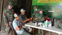 TNI Beri Layanan Pengobatan Gratis