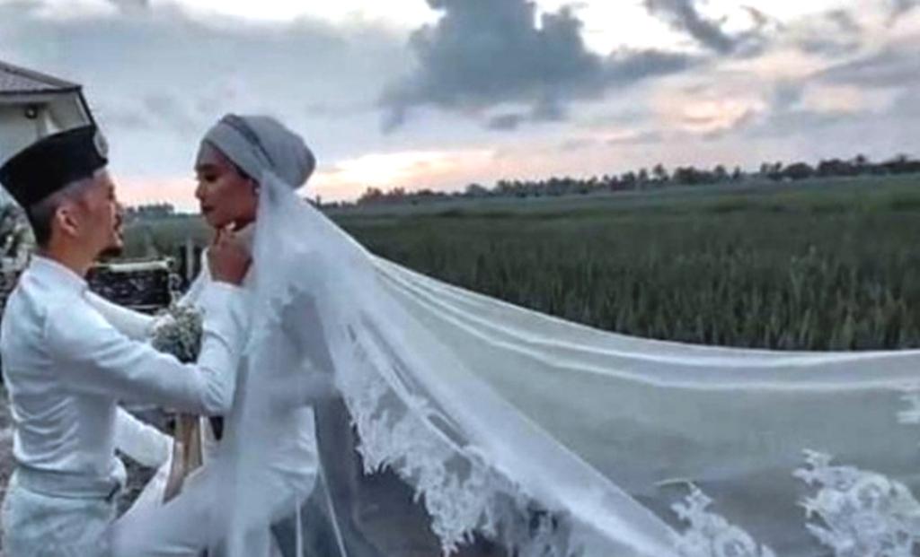Viral pernikahan guru dan murid beda usia 11 tahun
