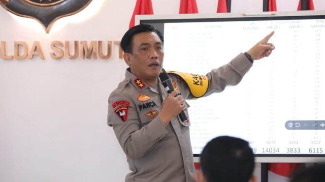Kapolda Sumut, Irjen Pol RZ Panca Putra