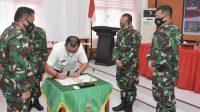 Program TMMD Ke-110 Wilayah Kodim 0213/Nias Resmi Ditutup.