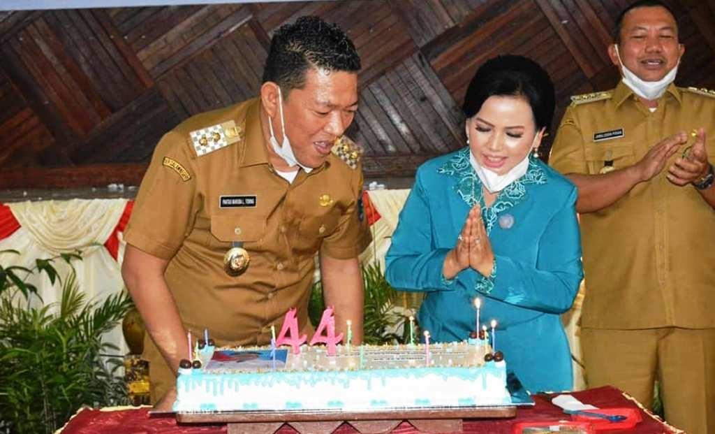 Wakil Wali Kota Sibolga Pantas Maruba Lumbantobing Dapat Kejutan di Hari Ulang Tahunnya ke 44