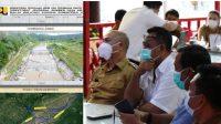 Kementerian PUPR mengalokasikan dana sebesar kurang lebih 78 milliar untuk pembangunan pipa air baku dan preservasi jalan nasional di Kabupaten Tapanuli Utara (Taput), Sumatra Utara (Sumut).