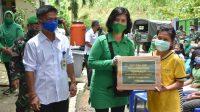 Ketua Persit Kartika Chandra Kirana Koorcabrem 023 PD I/BB, Ny. Ina Febriel Sikumbang