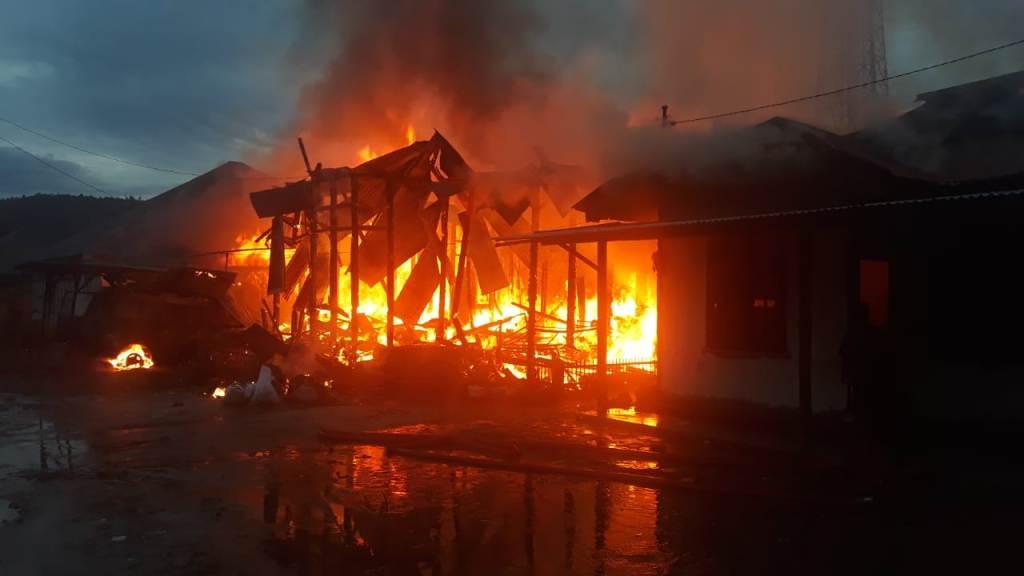 Kebakaran Rumah di Tapanuli Utara