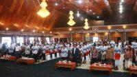 Pengukuhan Pengurus PGRI Taput Masa Bhakti 2021-2026