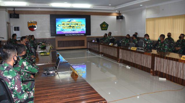 Sosialisasi Aplikasi Sisfopers di Korem 023/KS