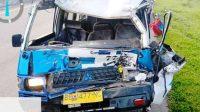 Mobil Tarvel dari Kota Sibolga Kecelakaan di Jalan Tol