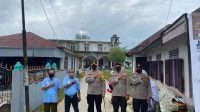 Kapolres Tapteng, AKBP Nicolas Dedy Arifianto pimpin pengamanan sholat Idul Fitri 1442 Hijriah di wilayah Kabupaten Tapteng, Kamis (13/5/2021).
