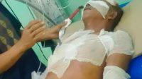 Salah Satu Korban Dirawat di Rumah Sakit. (Foto: dok-istimewa)