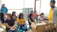 Sembilan WRS Diamankan Satpol PP Tapteng dari Kafe. (Foto: dok_istimewa)