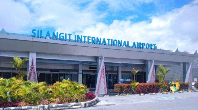 Suasana Lengang di Bandara Internasional Silangit.