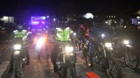 Kapolres Tapteng, AKBP Nicolas Dedy Arifianto pimpin Patroli Gabungan TNI-Polri pada malam Takbiran Idul Fitri 1442 Hijriah, di wilayah Kabupaten Tapteng, Sumatra Utara (Sumut), Rabu (12/5/2021).