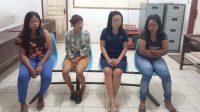 Wanita Rawan Sosial (WRS) yang Diamankan ke Kantor Satpol PP Tapteng. (Foto: dok_istimewa)