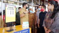 Wali Kota Medan, Bobby Nasution Didampingi Ketua PKK Kahiyang Ayu saat Mengunjungi Mall Ramayana Teladan. (Foto: dok_istimewa)