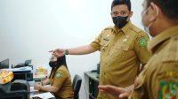 Wali Kota Medan, Bobby Nasution Sidak Kantor Dinas Kependudukan dan Pencatatan Sipil (Disdukcapil) Kota Medan. (Foto: dok_istimewa)