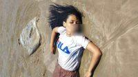 Foto Perempuan yang Dievakuasi dari Laut Sibolga. (Foto: dok_istimewa)