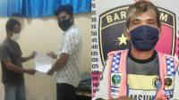 Kedua Warga yang Diamankan ke Mapolres Sibolga. (Foto: dok_istimewa)