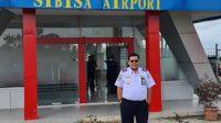 Kepala Unit Penyelenggara Bandar Udara (UPBU) Dr FL Tobing, Capt. M. Kurniawan. (Fdoto: dok_istimewa)