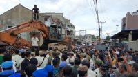 Foto: Suasana di Lokasi saat akan Eksekusi Lahan. (dok_istimewa)