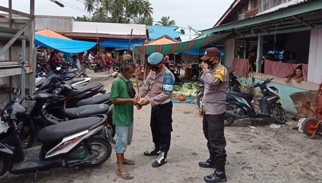 Foto: Polisi Razia Preman di Kabupaten Tapteng, Sumut. (Foto: dok_istimewa)