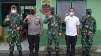Danrem 023/KS Kunjungi Markas Komando Rayon Militer di Tapsel