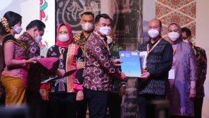 SNT, Bali – Bupati Tapanuli Utara, Nikson Nababan dipercaya menjadi Ketua Bidang Pemerintahan dan Pendayagunaan Aparatur. (Foto: dok_istimewa)