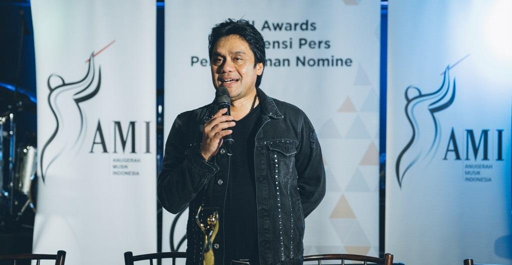 Foto: Dwiki Dharmawan, Ketua Umum Yayasan Anugerah Musik Indonesia.
