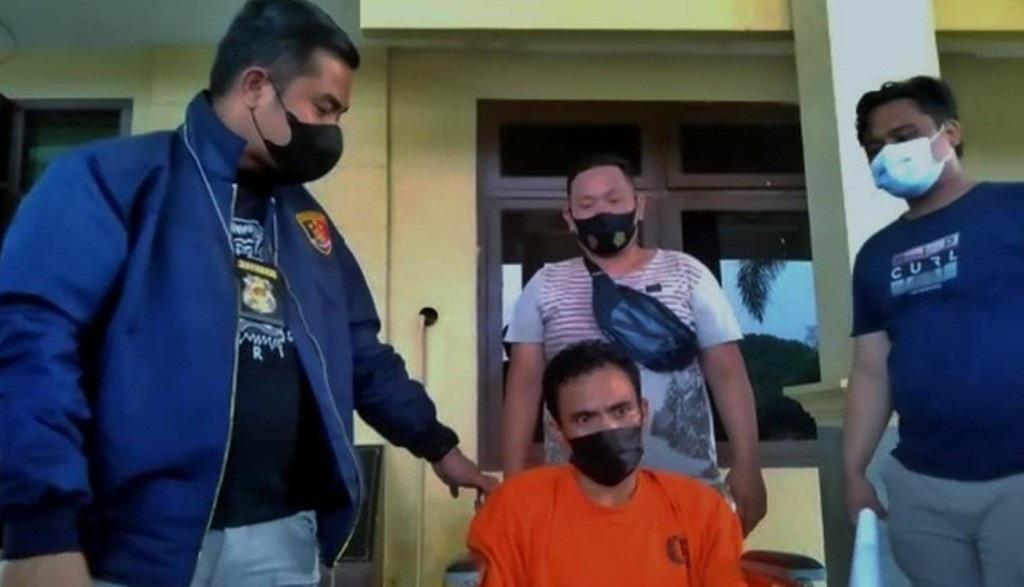 Penganiaya Istri Siri di Sumsel Ditangkap (Foto: dok/istimewa)