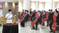 Bupati Taput Lantik Pengurus LADN Taput Masa Bakti 2021-2026