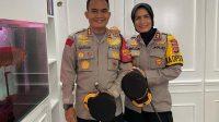 Suami Istri Polisi pernah sama-sama jadi kapolres. Foto: Instagram @guruh_arif