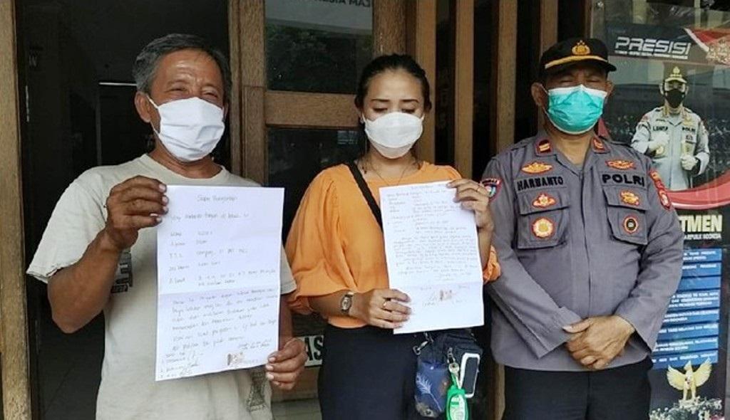 Pelaku pungli 'uang rokok' di Jakbar minta maaf (Foto: dok. istimewa)
