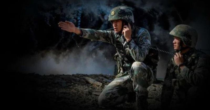 Foto: Militer China.