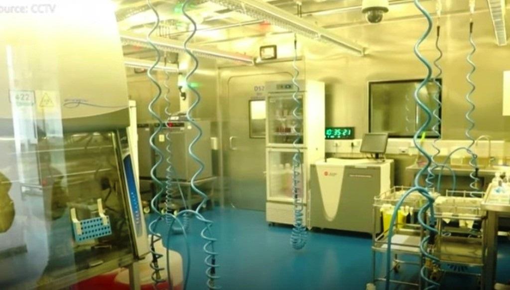 Wuhan Institute of Virology. Foto: CCTV