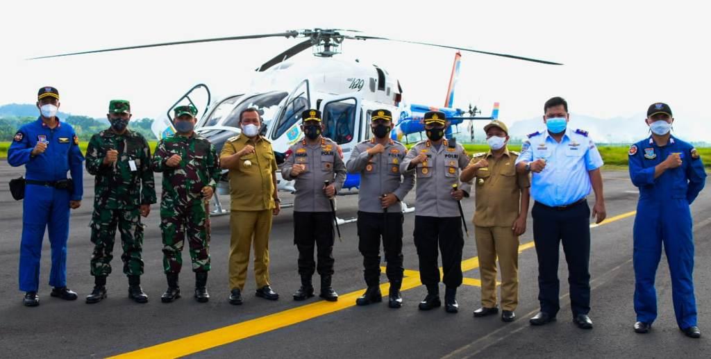 Waka Polri Komjen Pol Gatot Eddy Pramono kunjungan kerja ke Kota Medan, Sumatra Utara dan ke Kabupaten Tapanuli Selatan (Tapsel), Selasa (3/8/2021).