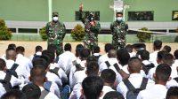 Komando Resor Militer 023/KS sebagai Panitia Daerah (Sub Panda) saat ini sedang melaksanakan penerimaan daftar ulang seleksi Calon Bintara Prajurit karier TNI-AD tahun 2021