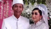 Foto pernikahan Awan dan Arzum. Foto: Facebook/Arzum.