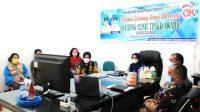 Pemkab Tapteng Ikuti Coaching Clinic TPAKD Award 2021 (dok/kominfo)