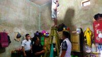 Petugas Lapas Sibolga Melakukan Penggeledahan Kamar Hunian Warga Binaan. (Foto: dok/istimewa)