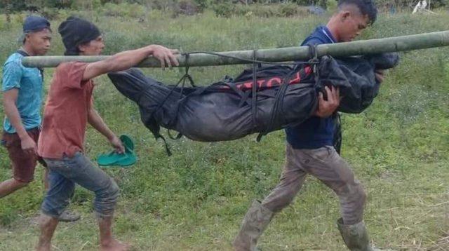 Korban Dievakuasi dari TKP. (dok/istimewa)