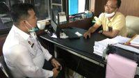 Foto: Petugas Lapas Berkoordinasi dengan PLN Sibolga. (dok/istimewa)